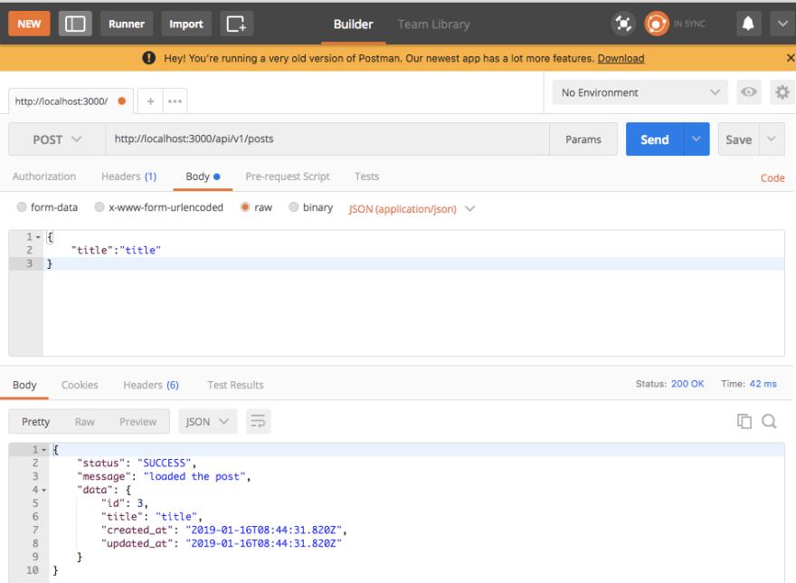 Build a simple API using RoR5 - DEV Community 👩 💻👨 💻
