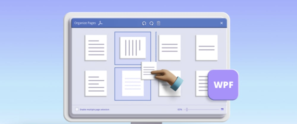 Cover image for Rotate, Remove, and Rearrange PDF Pages Easily with WPF PDF Viewer
