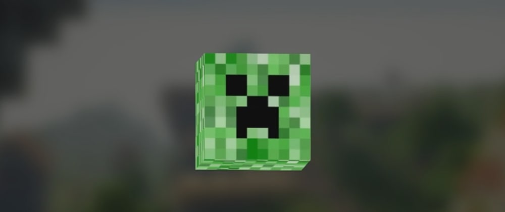Cover image for Animating a 3D creeper's head in CSS and JS!