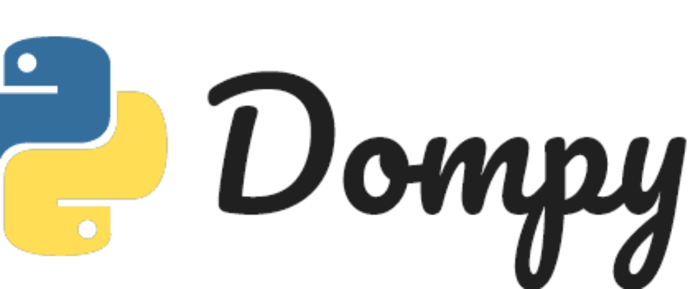 Cover image for JavaScript Dom API for Python, Html Parser and a Web scraping tool in python