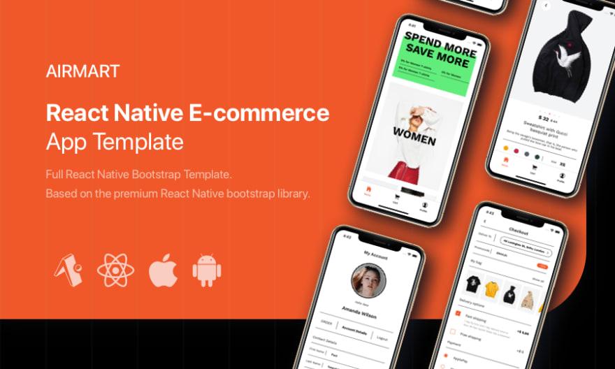 Airmart – React Native E-commerce Template