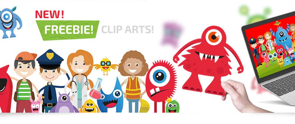 Cover image for SVG cute kids characters for your creative projects