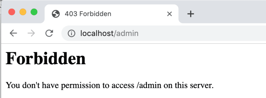 Verbose Errors in Admin Page are blocked at PL2