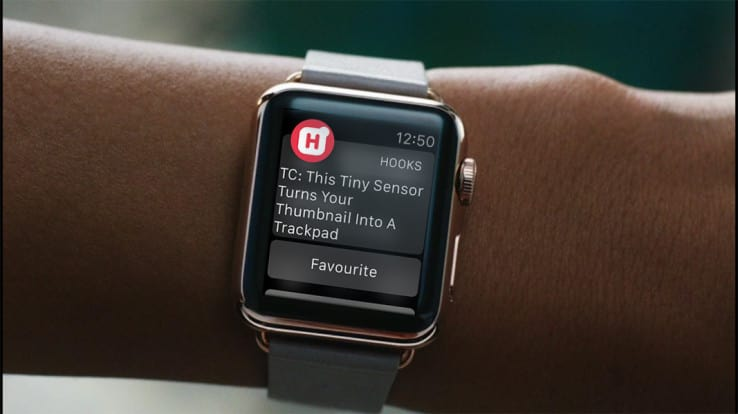 Push notification on a Smartwatch