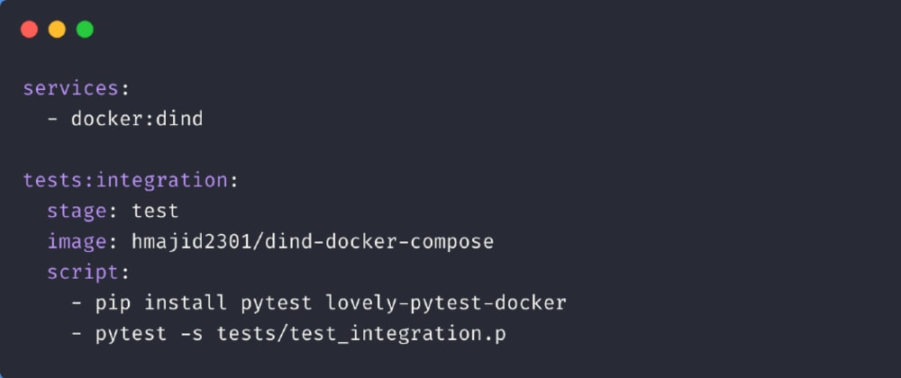 Cover image for How to use Gitlab CI, Pytest and docker-compose together