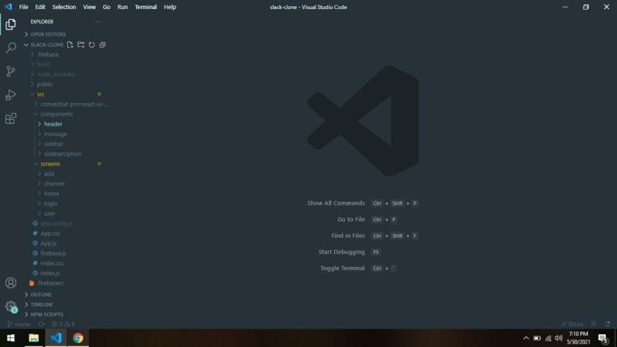 Slack Clone Project Structure