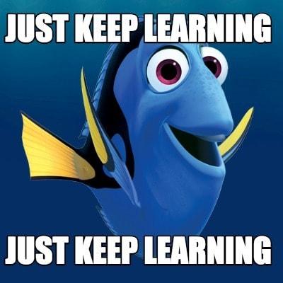 Dory Learns