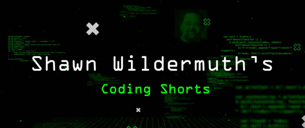 Cover image for New Video Series: Coding Shorts