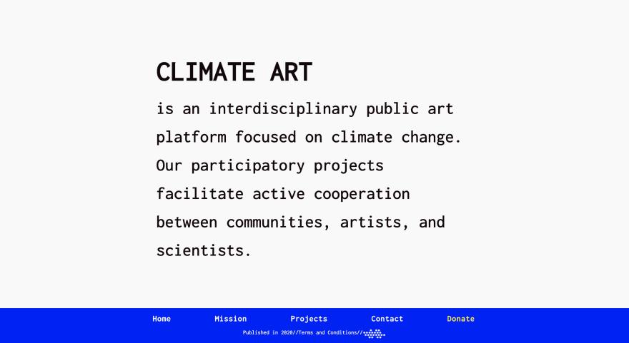 climate art