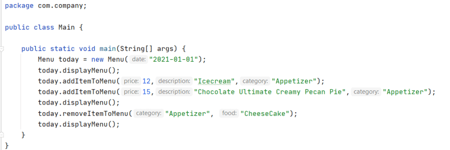 Java's Main Class
