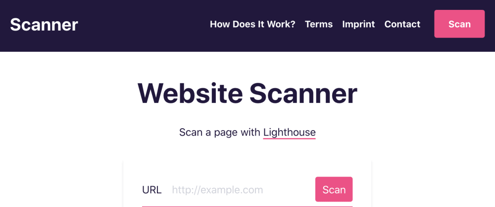 Cover image for Lighthouse as a Service: Scan WebPages for Performance, SEO and Best Practices