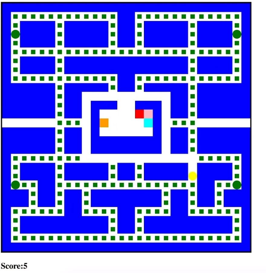 a basic Pac-Man game