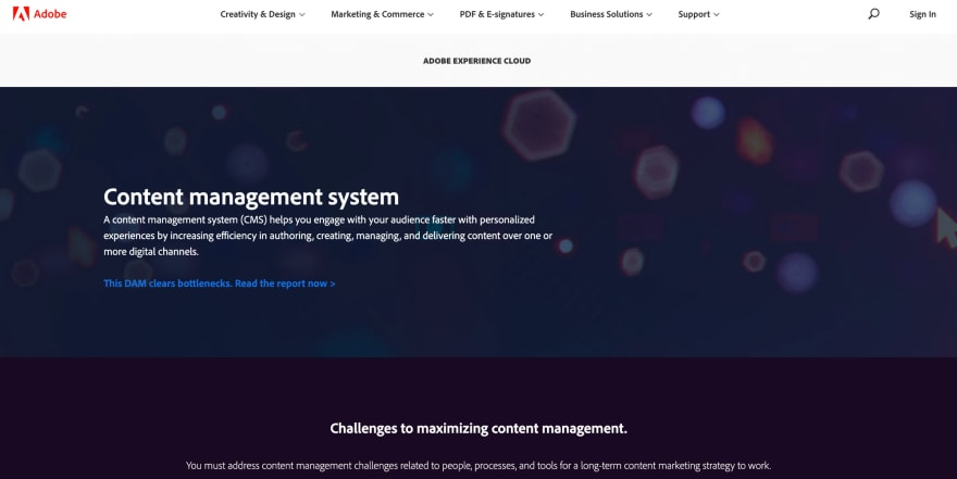 Adobe Experience Manager CMS