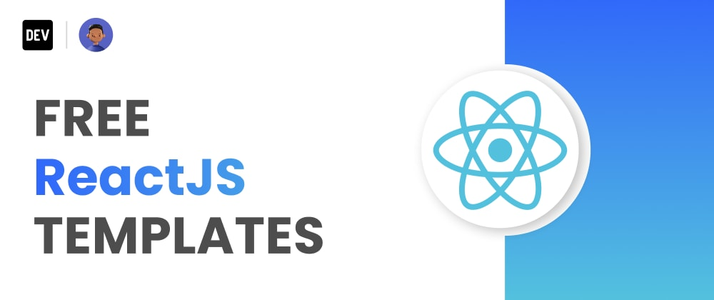 Cover Image for 15 Free React  Templates for Your Next Project