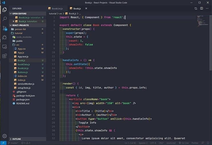 VS Code Theme - Snazzy Operator
