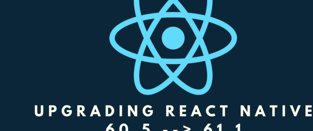 Cover image for FAST REFRESH ~ React Native 61 ~ Upgrading React Native from 60.5 to 61.1 and Testing Fast Refresh! [LIVE STREAM]