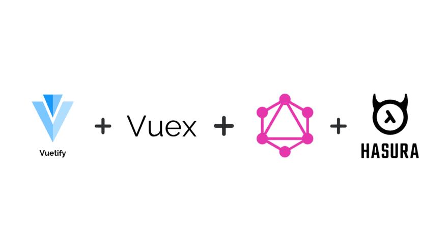 vuetify+vuex+graphql