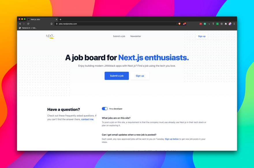 Your Next JS dream job