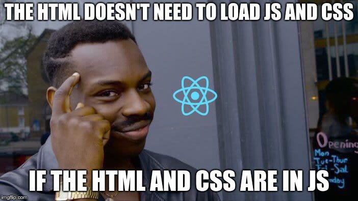 No CSS or JS