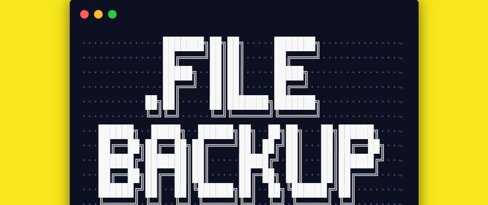 Cover image for Backup Your Dotfiles With Version Control