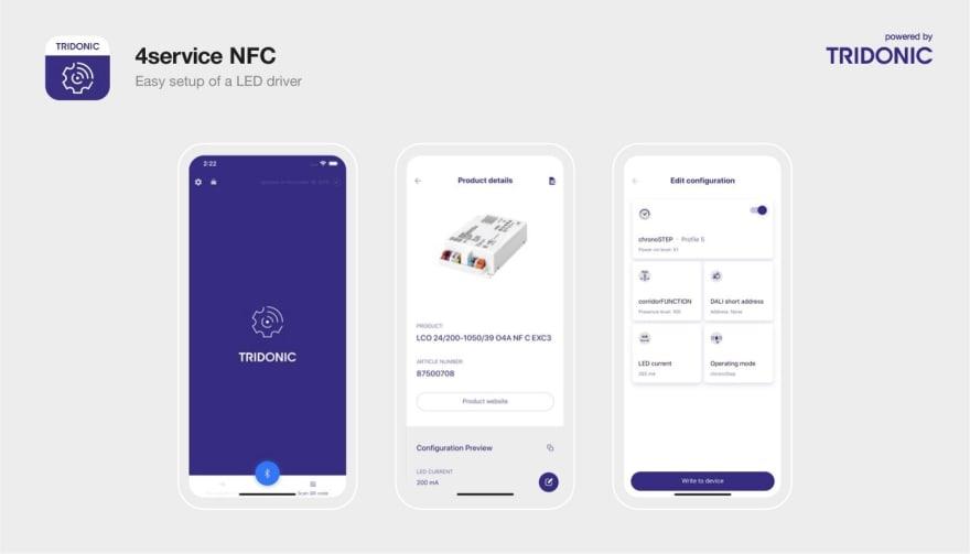 4service NFC app