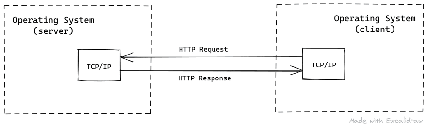 TCP/IP Protocol with HTTP