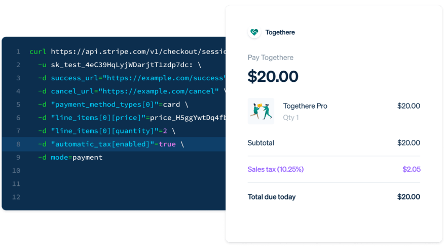 Get started with Stripe Tax