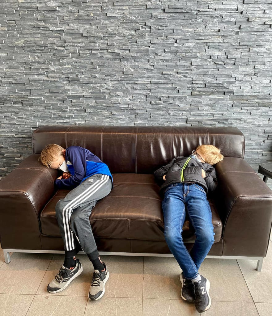 jet lagged in iceland