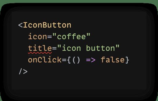 Typescript Button Error