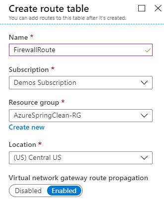 FirewallRoute