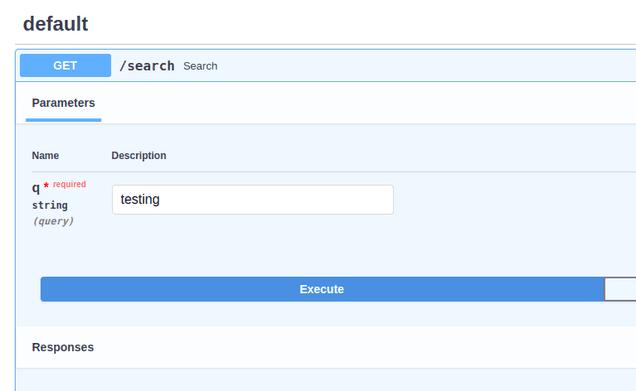 Interactive API Usage in FastAPI