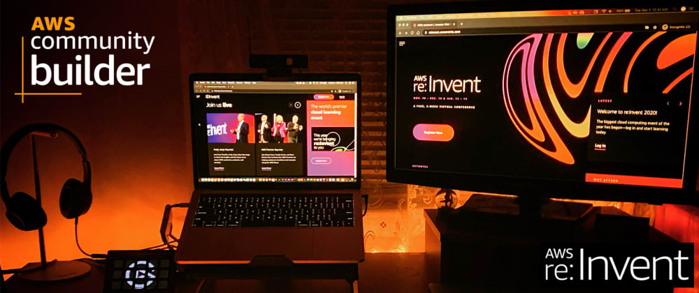 Cover image for Top Highlights from AWS' re:Invent 2020 Conference for Innovators & Builders