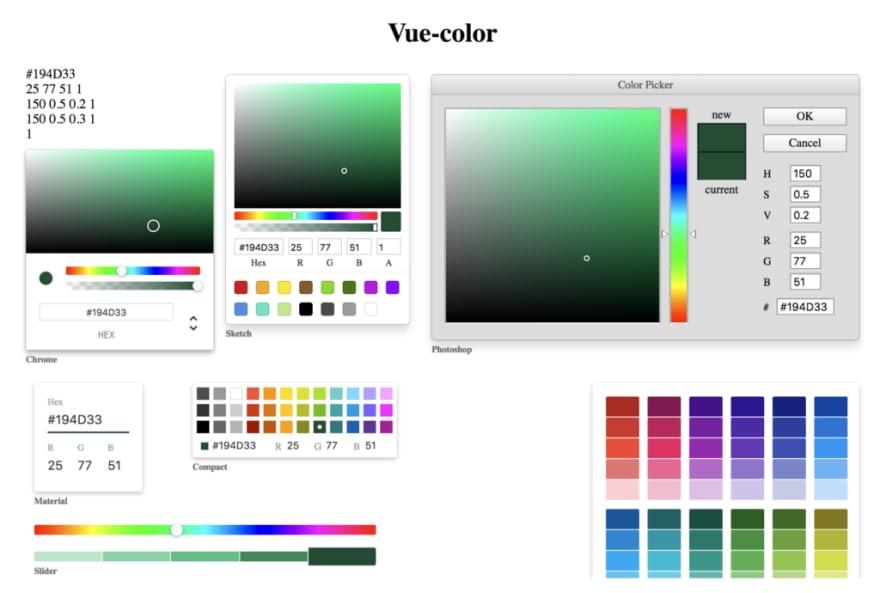 vue-color