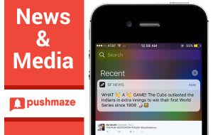 Push Notifications Usages in News & Media Industry