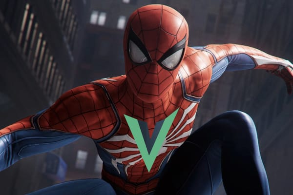 Vue as Spider-Man