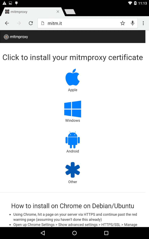 MimtProxy page