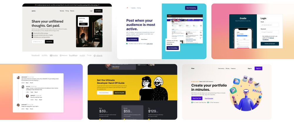 Cover image for 6 HTML and CSS Projects For Your Portfolio