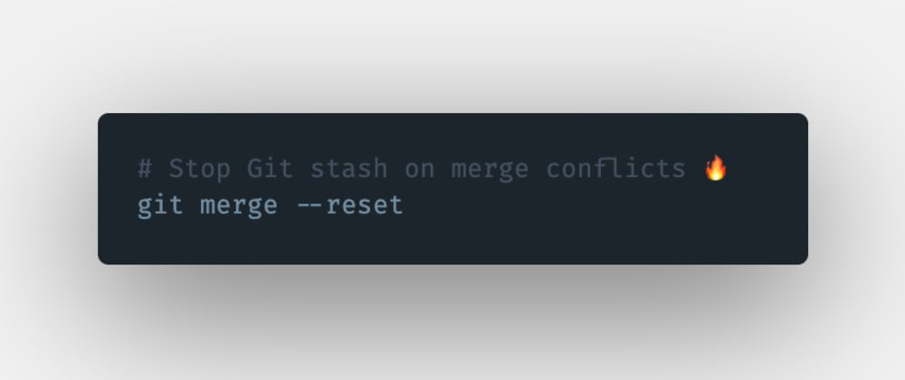 Cover image for How to abort the whole git stash process if a merge conflict has occurred in Git?