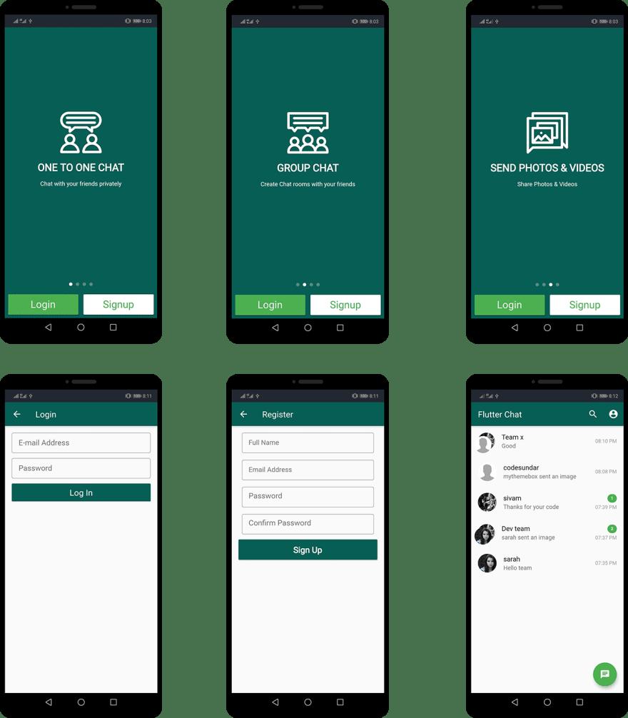 Firebase github app android chat Firebase Chat