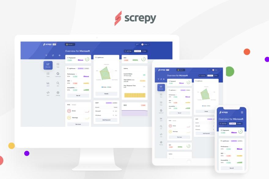 Screpy Website analysis tool
