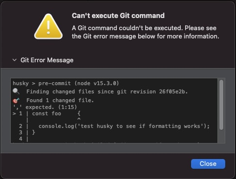 git-commit-error
