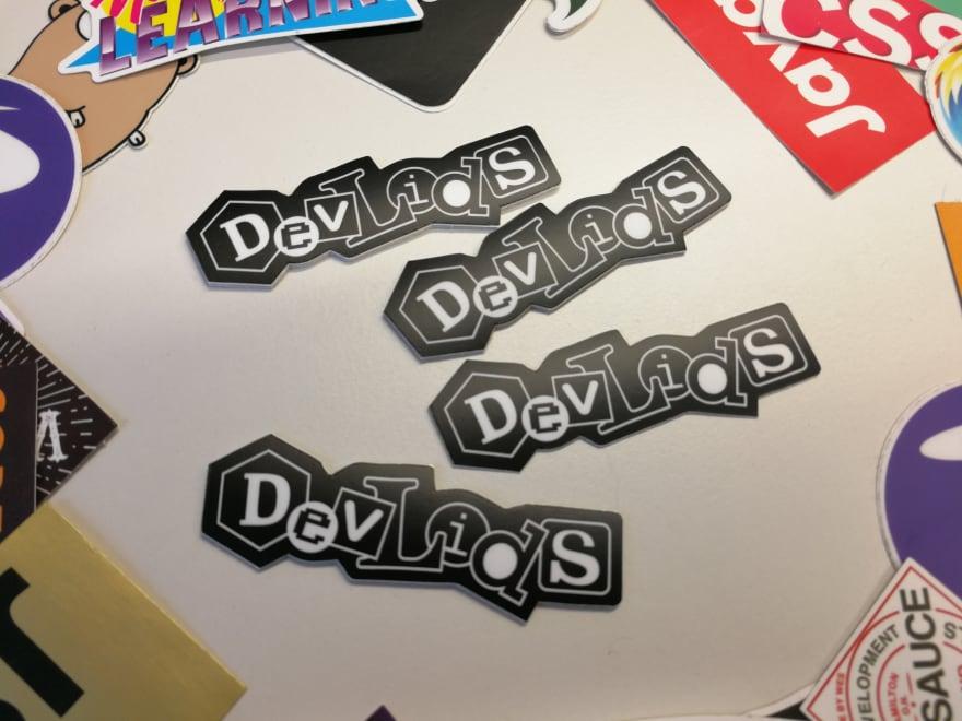 DevLids Stickers