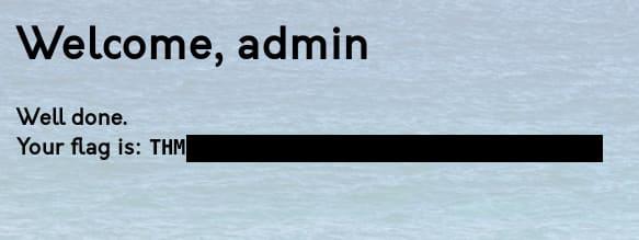 Admin Flag