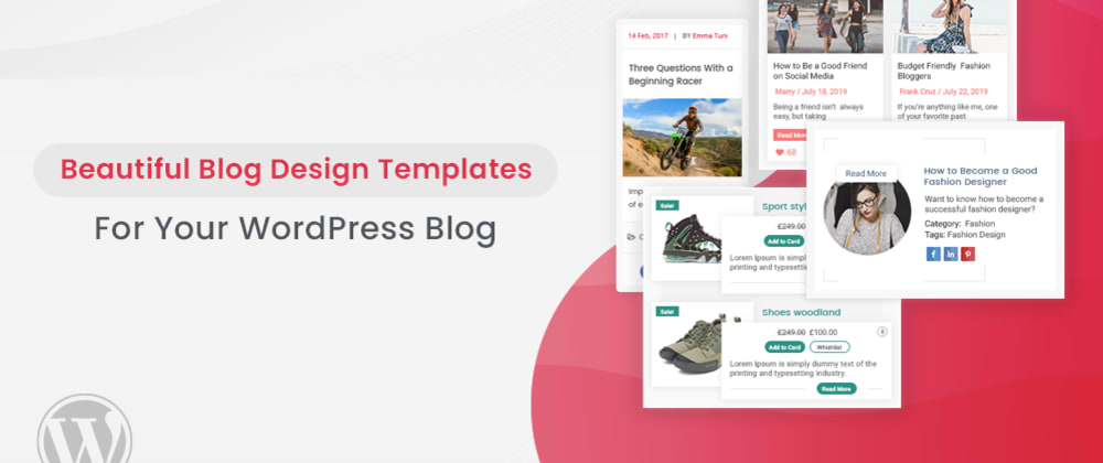 Cover image for Beautiful Blog Design Templates For Your WordPress Blog