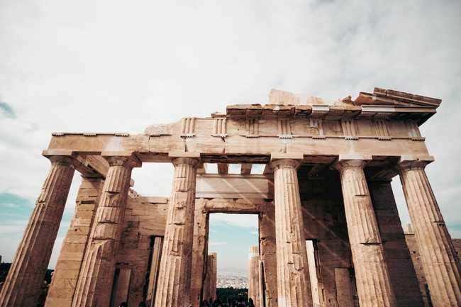 Photo of the Acropolis of Athens, Athens, Greece by Cristina Gottardi
