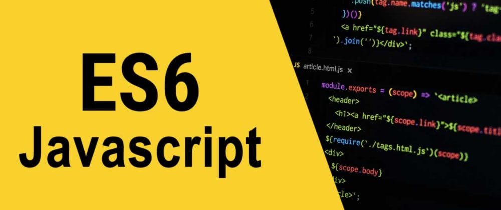 Cover image for What are your fav ES6 features?