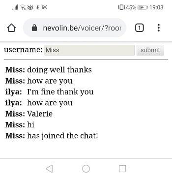 voicer screenshot