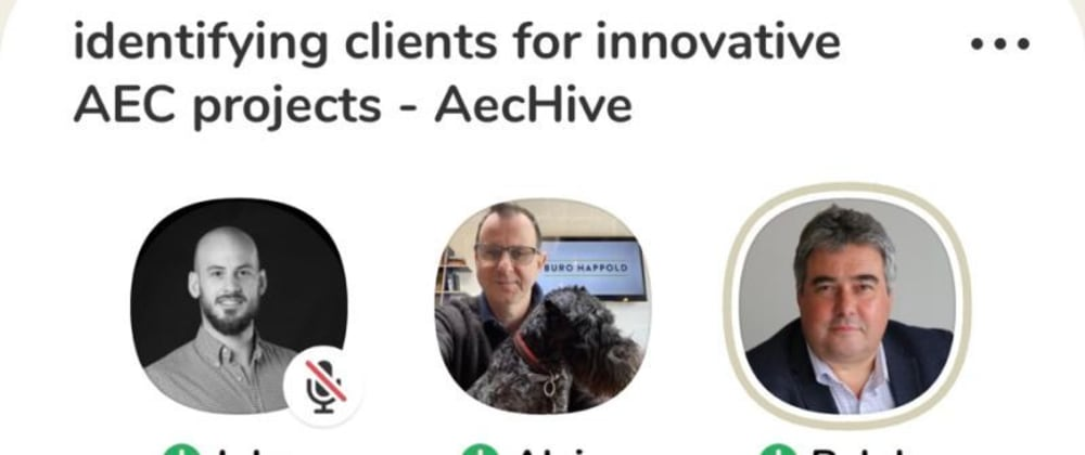 Cover image for How to find the ideal Client as an AEC startup (Clubhouse  👋)