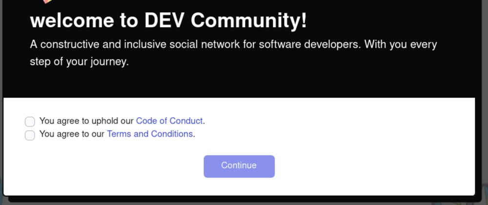Cover image for Kudos to dev.to for having simple terms of service 👍