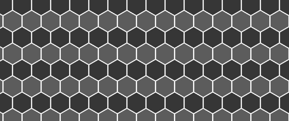 Cover image for Background pattern - hexagon shape